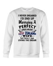 Perfect Freakin' New Zealand Wife Crewneck Sweatshirt thumbnail