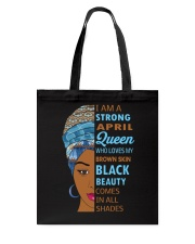 April Queen Tote Bag thumbnail