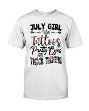 July Girl Classic T-Shirt front