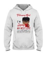 February Girl Hooded Sweatshirt thumbnail