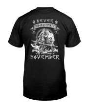 November Men - Special Edition Classic T-Shirt back