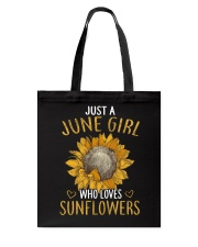June Girl Tote Bag thumbnail