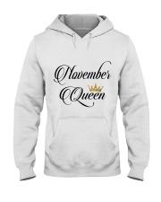 November Queen Hooded Sweatshirt thumbnail