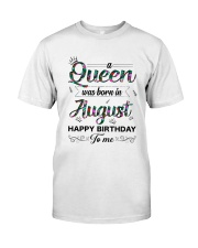 August Queen Classic T-Shirt front