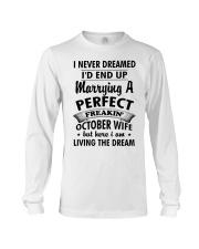 Perfect Freakin' October Wife Long Sleeve Tee thumbnail