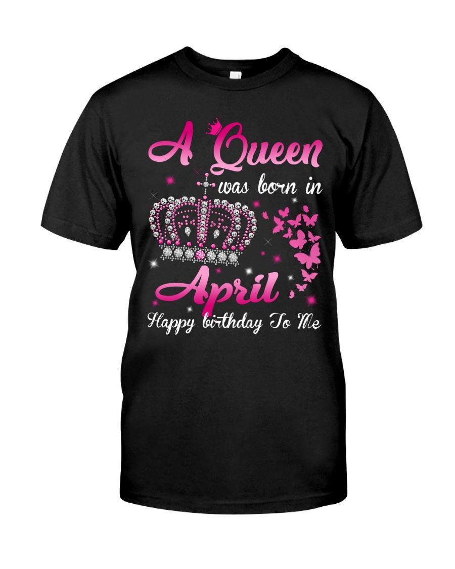 Queen April Classic T-Shirt
