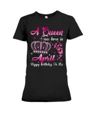 Queen April Premium Fit Ladies Tee thumbnail