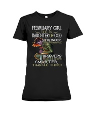 February Girl - Special Edition Classic Premium Fit Ladies Tee thumbnail