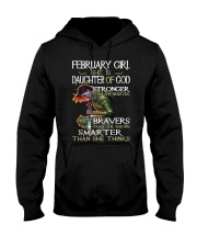 February Girl - Special Edition Classic Hooded Sweatshirt thumbnail