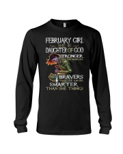 February Girl - Special Edition Classic Long Sleeve Tee thumbnail