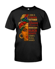 October Queen Classic T-Shirt front