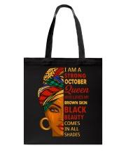 October Queen Tote Bag thumbnail