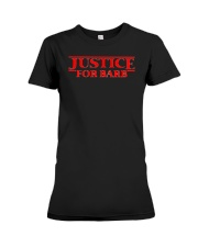 Justice For Barb Premium Fit Ladies Tee tile