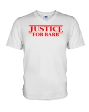 Justice For Barb V-Neck T-Shirt tile