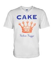 Cake V-Neck T-Shirt thumbnail