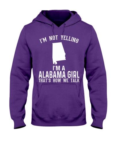 I Am Not Yelling I Am A Alabama Girl