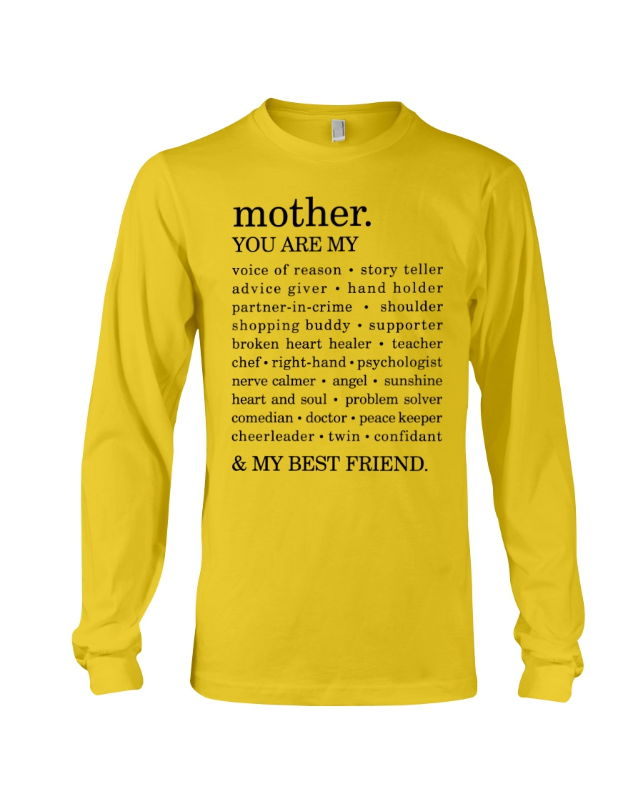 MOTHER : YOU ARE MY Long Sleeve Tee