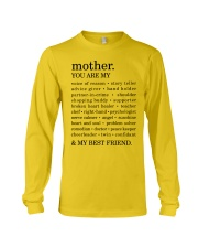 MOTHER : YOU ARE MY Long Sleeve Tee front