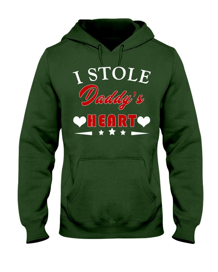 I Stole Daddy's Heart Hooded Sweatshirt