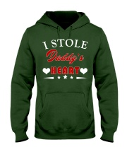 I Stole Daddy's Heart Hooded Sweatshirt front