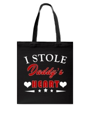 I Stole Daddy's Heart Tote Bag thumbnail