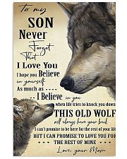 To My Son From Mom 11x17 Poster front