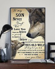 To My Son From Mom 11x17 Poster lifestyle-poster-2