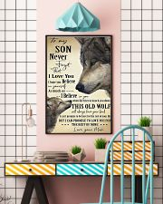 To My Son From Mom 11x17 Poster lifestyle-poster-6