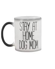 STAY AT HOME DOG MOM Color Changing Mug color-changing-left