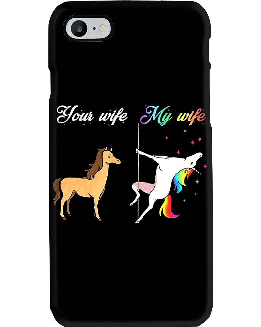 YOUR WIFE MY WIFE Phone Case
