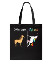 YOUR WIFE MY WIFE Tote Bag thumbnail