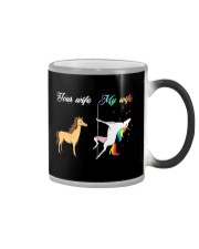 YOUR WIFE MY WIFE Color Changing Mug thumbnail
