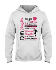 TO MY DAUGHTER YOU'RE LOVED Hooded Sweatshirt thumbnail