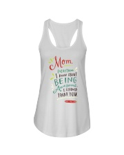 MOM EVERYTHING I KNOW ABOUT BEING AWSOME Ladies Flowy Tank thumbnail