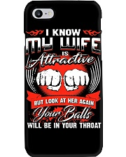 I KNOW MY WIFE Phone Case i-phone-7-case