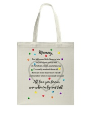 ILL LOVE YOU FOREVER EVEN WHEN I'M BIG AND TALL Tote Bag thumbnail