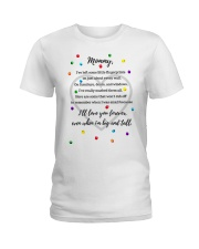 ILL LOVE YOU FOREVER EVEN WHEN I'M BIG AND TALL Ladies T-Shirt thumbnail