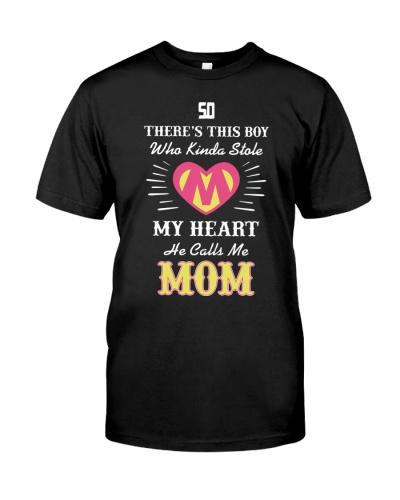MY HEART HE CALLS ME MOM