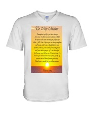 TO MY MOTHER V-Neck T-Shirt thumbnail