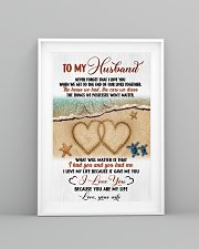 To My Husband From Wife 11x17 Poster lifestyle-poster-5
