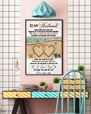 To My Husband From Wife 11x17 Poster lifestyle-poster-6