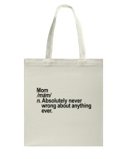 MOM Tote Bag thumbnail