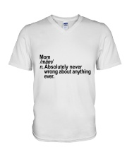 MOM V-Neck T-Shirt thumbnail