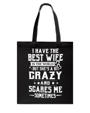 I HAVE THE BEST WIFE Tote Bag thumbnail