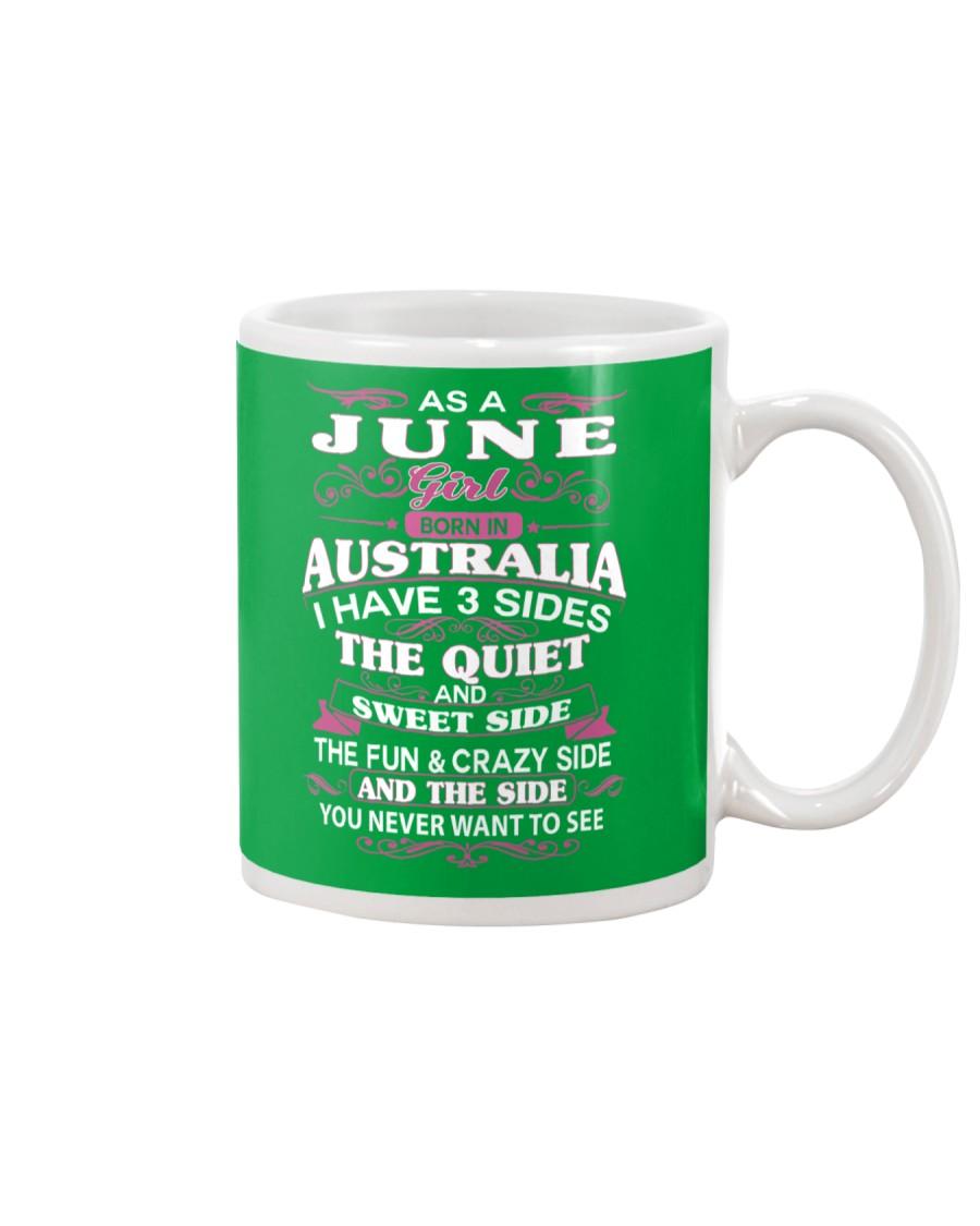 AS A JUNE GIRL BORN IN AUSTRALIA Mug