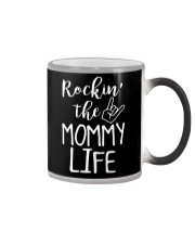 ROCKIN' THE MOMMY LIFE Color Changing Mug thumbnail