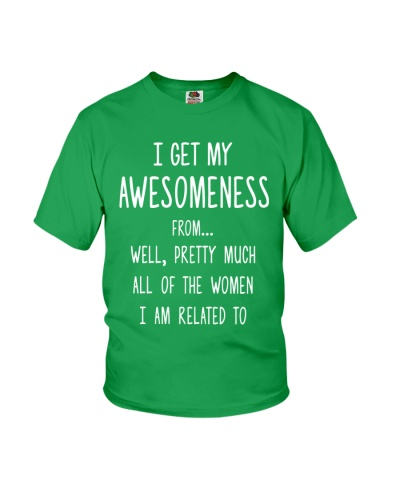 I GET MY AWESOMENESS