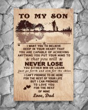 To My Son From Dad 11x17 Poster aos-poster-portrait-11x17-lifestyle-13