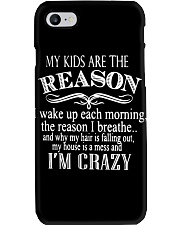MY KIDS ARE THE REASON Phone Case thumbnail