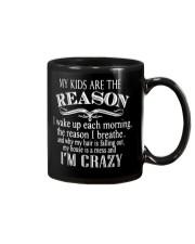 MY KIDS ARE THE REASON Mug thumbnail